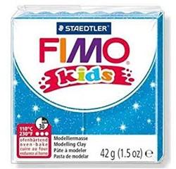 Fimo  kids klei - glitter blauw