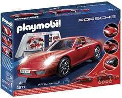 Playmobil  Sports & Action Porsche Carrera S 3911