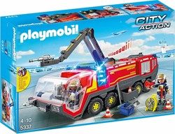 Playmobil Action Luchthavenbrandweer met licht 5337