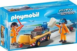 Playmobil  Action Luchtverkeersleiders met bagag 5396