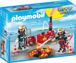 Playmobil  Action Brandweermannen met blusmateriaal 5397