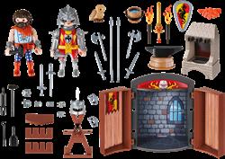 Playmobil - Knights - Speelbox Ridder en Smid