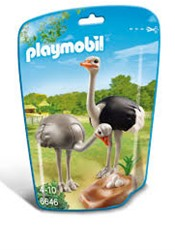 Playmobil  City Life Struisvogels met nest 6646