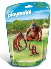 Playmobil  City Life Orang-Oetans met kind 6648