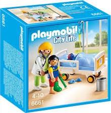 Playmobil  City Life Ziekenhuiskamer met arts 6661