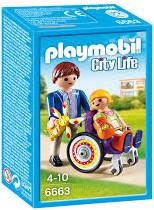 Playmobil City Life  - Kind in rolstoel  6663