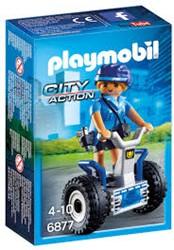 Playmobil  City Action Politieagente met balans racer 6877