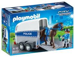 Playmobil  City Action Bereden politie met trailer 6922
