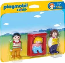 Playmobil  1.2.3. Ouders met baby 6966