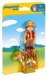 Playmobil  1.2.3. Ranger met tijger 6976