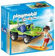 Playmobil Family Fun - Surfer met strandbuggy  6982