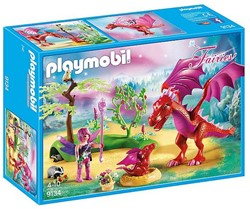 Playmobil Fairies - Drakenhoeder met rode draken  9134