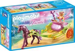 Playmobil  Fairies Bloemenfee met eenhoornkoets 9136