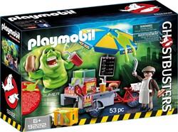 Playmobil - Ghostbusters - Slimer en hotdogkraam