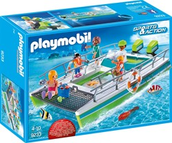 Playmobil - Sports & action - Glasboot met onderwatermotor