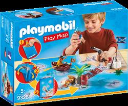 Playmobil pirates play map Piraten met plattegrond 9328