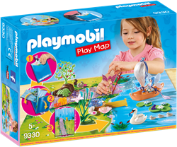 Playmobil Fairies Play Map Feeën met Plattegrond