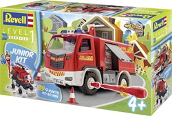 Revell  modelbouw Junior kit fire truck 1:20