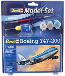 Revell MODEL SET BOEING 747-200 1:450 63999
