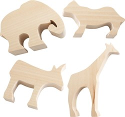 haba - Terra Kids - Snijvormen Afrikaanse dieren
