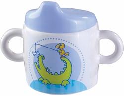 Haba  kinderservies Baby drinkbeker Krokovrienden
