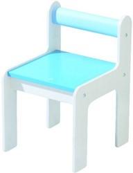 HABA Kinderstoel puncto blauw
