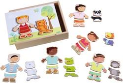 HABA Houten puzzel Kinderen van de wereld