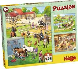 HABA Puzzels - Paardenboerderij