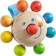 Haba - box en maxi cosi speelgoed - Buggy-speelfiguur Clown