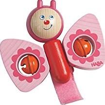 Haba - box en maxi cosi speelgoed - Buggy-speelfiguur Vlinder