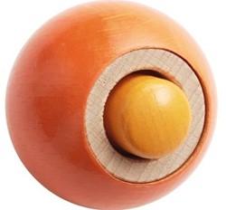 Haba Rollebollen houten knikkerbaan accessoires Effectknikker Drukknop 302074