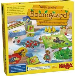 HABA Spel - Mijn grote Boomgaard - spelletjesverzameling