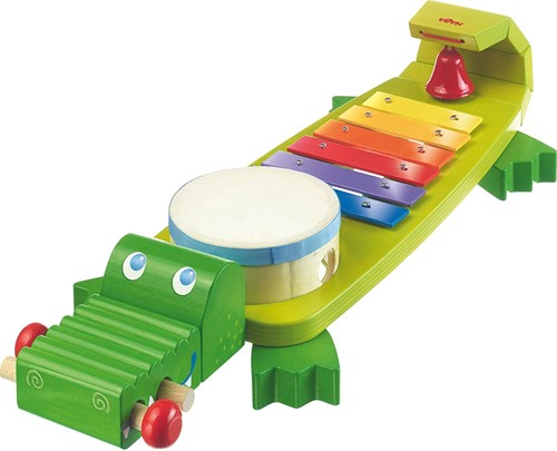 Muziekinstrumenten - Klankkrokodil