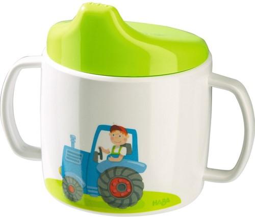 HABA Baby drinkbeker Tractor
