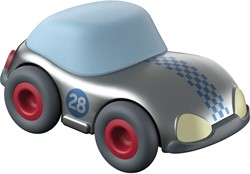 HABA Kullerbü Knikkerbaan - Zilveren sportwagen