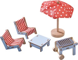 HABA Little Friends - Poppenhuismeubels Terras