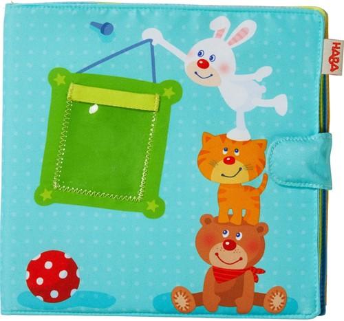 Haba babyboek Baby fotoalbum Speelkameraadjes
