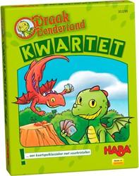 HABA Kaartspel - Draak Dondertand - Kwartet