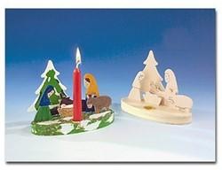 Beleduc  houten knutselspullen Kerstscene kerststal