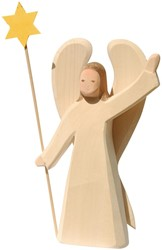 Ostheimer Angel with Star large 2 pieces