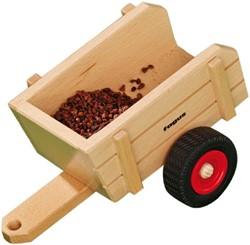 Fagus  houten speelvoertuig aanhanger 22cm