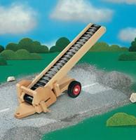 Fagus  houten speelvoertuig transportband-2