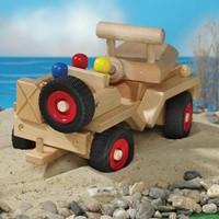 Fagus  houten speelvoertuig jeep bestuurbaar-2