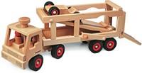 Fagus  houten speelvoertuig raceauto 14cm-2