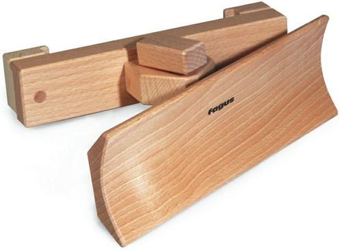 Fagus  houten speelvoertuig sneeuwschuiver
