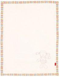 Sigikid  pluche knuffel Kleed lammetje - 100 x 75 cm