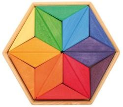 Grimm's houten puzzel kleuren ster