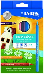 Lyra  teken en verfspullen Super Ferby K12 basic