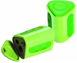 LYRA Box of 12 GROOVE twin-hole sharpeners GROOVE