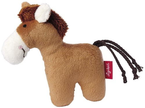 sigikid Rammelaar paard bruin, Red Stars